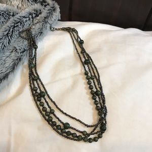 Jewelry - BOGO!💃 Green bead necklace